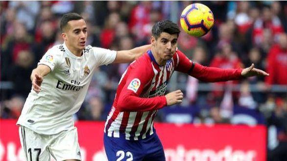 Derbi. Oficial: Morata se perderá el partido y Zidane esconde a Marcelo