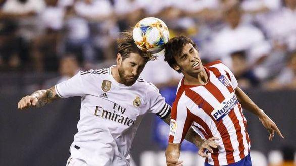 Derbi. La ilusión del Atlético y las dudas del Real Madrid se examinan