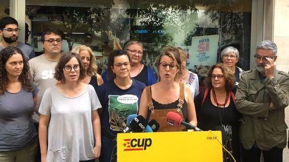 La CUP anuncia que concurrirá por primera vez a las elecciones generales