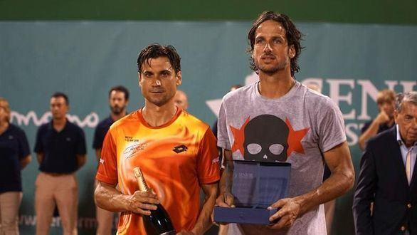 Senior Masters Cup. Feliciano López le gana a David Ferrer el cetro