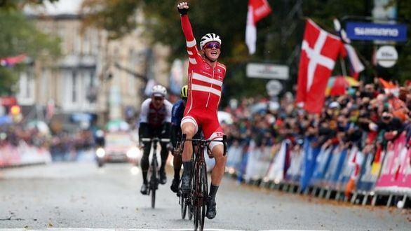 Mundial. El joven Mads Pedersen es el nuevo campeón