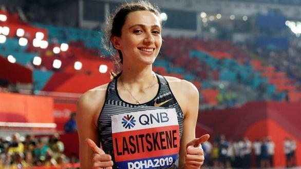 Mundiales. Lasitskene hace historia y Warholm cumplió sin récord