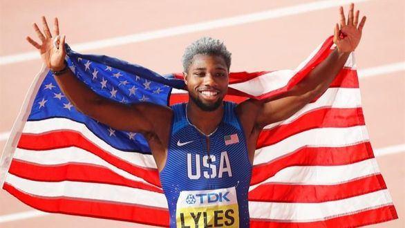 Mundiales. Noah Lyles se proclama rey del 200 y también apunta hacia Usain Bolt