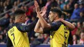 Achraf gana al Slavia Praga y el Dortmund sube enteros | 0-2