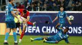 El Zenit acelera hacia la siguiente fase y complica al Benfica | 3-1