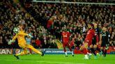 El Liverpool se aferra a Anfield y a la locura goleadora ante el Salzburgo | 4-3