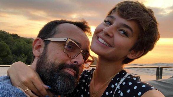Risto Mejide y Laura Escanes, felices por el nacimiento de su hija Roma