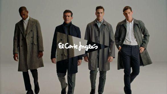 Antonio Banderas protagoniza por tercera vez la campaña de moda masculina de El Corte Inglés