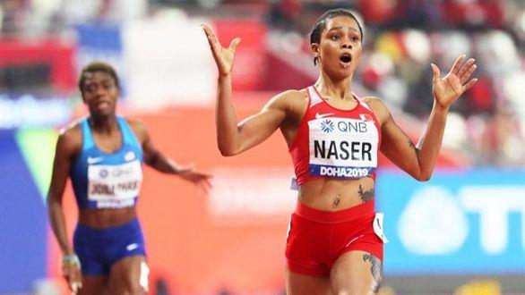 Mundiales. Salwa Eid Naser gana el 400 con la tercera mejor marca de la historia