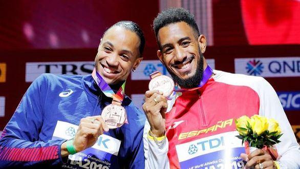 Mundiales. La IAAF entra en razón y le entrega la medalla de bronce a Orlando Ortega
