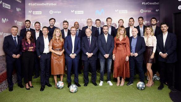 LaLiga y Movistar presentan una alianza para elevar al fútbol a una nueva dimensión
