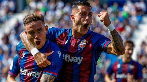 El Levante deja tocado al Leganés y a Pellegrino |1-2