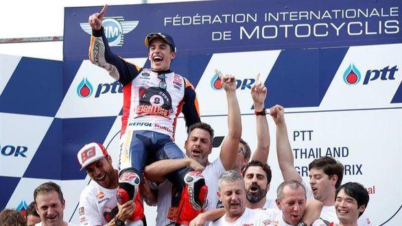 Márquez hace historia: campeón del mundo por octava vez