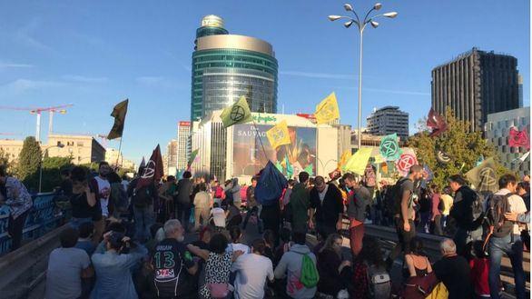 Activistas por el clima colapsan Madrid: hay 33 detenidos