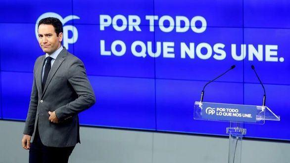 Un eufórico PP presenta su eslogan: