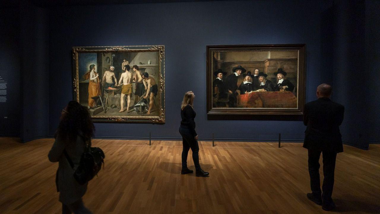 Rembrandt y Velázquez, en duelo en una exposición en Ámsterdam