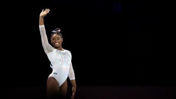 Mundiales. Simone Biles alcanza su quinto título en concurso completo