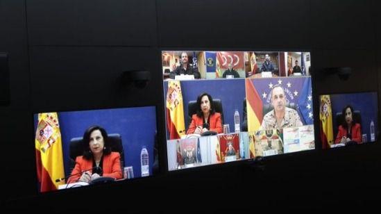Robles, a las misiones de paz en el exterior: 'Representan lo mejor de España'
