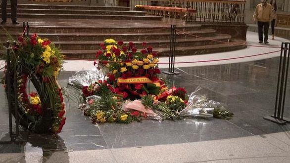 La Guardia Civil bloquea el acceso al Valle de los Caídos a un grupo de fieles