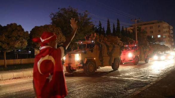 Turquía proclama haber conquistado la primera ciudad en la franja kurda de Siria