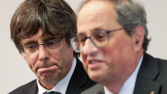 Puigdemont, Torra y Mas lanzan un mensaje ante las filtraciones de la sentencia del 1-O