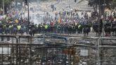 Quito, arrasado por las protestas contra las medidas de austeridad de Lenín Moreno