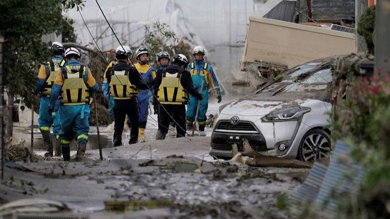 Japón busca supervivientes tras el paso de Hagibis, que ha dejado 68 muertos