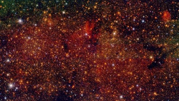 Publicado el catálogo más extenso de estrellas del centro galáctico de la Vía Láctea