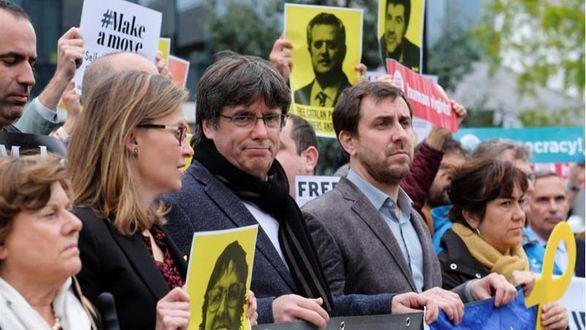Prohíben a Puigdemont entrar al Parlamento Europeo