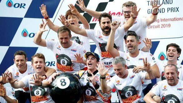 El campeón Marc Márquez no frena: