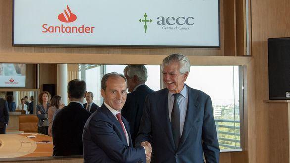 Santander y la AECC se unen para ayudar a las mujeres con cáncer de mama