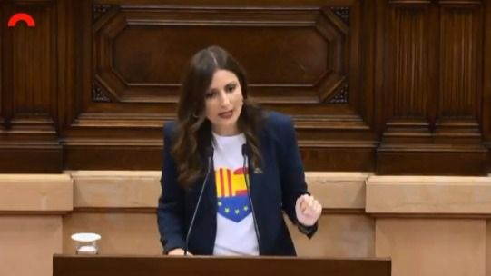 Roldán, a Torra: 'Viene al Parlament a llamar a la revuelta, a incendiar'