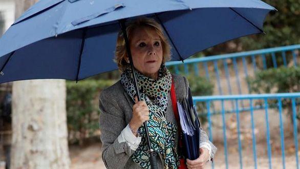 Aguirre se desliga de la 'caja B' del PP de Madrid