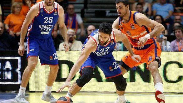 Euroliga. El Valencia Basket se complica frente al Anadolu Efes | 78-83