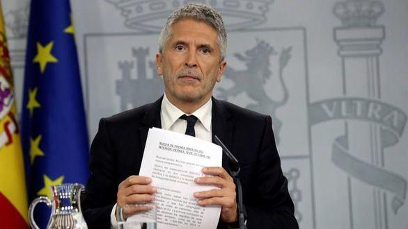 Marlaska se desplaza por fin a Cataluña para reunirse con Buch y los mandos policiales