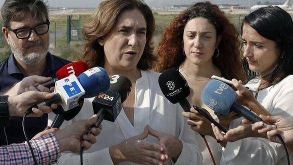 Ada Colau llama a la calma: 'Esto no puede seguir así, Barcelona no se merece esto'