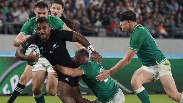 Mundial de rugby. Inglaterra y Nueva Zelanda acribillan a Australia e Irlanda