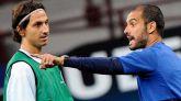 Ibrahimovic: 'Después de enfrentarnos, Guardiola se escondía de mí'