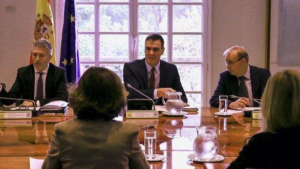 Pedro Sánchez preside el comite de seguimiento, esta semana.