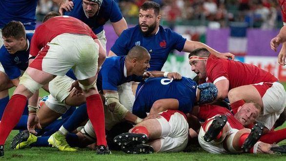 Mundial de rugby. Gales sobrevive a Francia y se medirá a Sudáfrica en semis