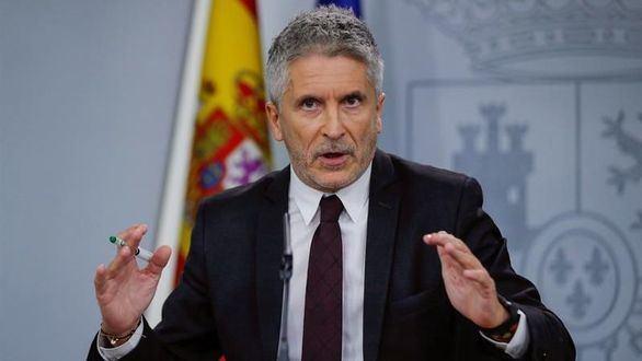 Marlaska insiste: los disturbios en Cataluña son sólo problemas de orden público
