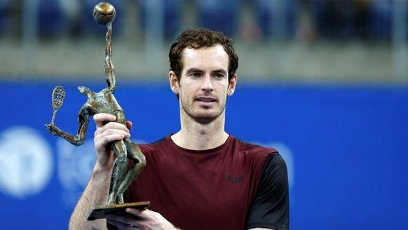 Andy Murray se echa a llorar tras ganar su primer título después de su grave lesión