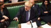 Boris Johnson este martes.