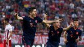 El Bayern titubea pero sale del Pireo victorioso | 2-3
