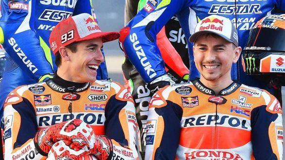 GP de Australia. Ya saltan chispas entre Marc Márquez y Jorge Lorenzo