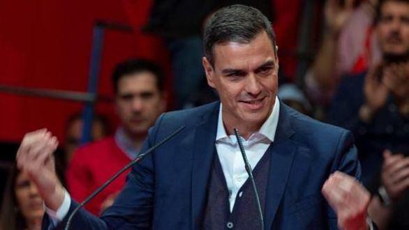 Sánchez vuelve a hablar de Franco en un mitin en Tenerife