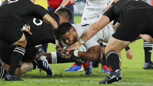 Mundial de rugby. Inglaterra da la sorpresa y elimina a Nueva Zelanda | 19-7