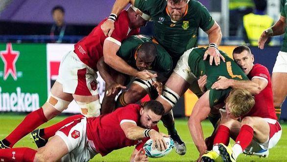Mundial de rugby. Gales no puede con Sudáfrica, que es finalista