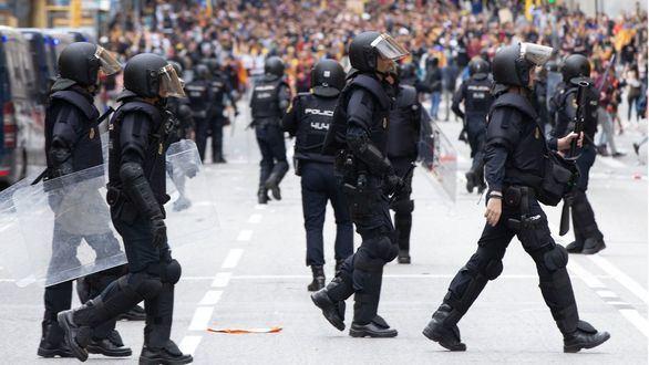 ANC justifica la violencia en Cataluña: