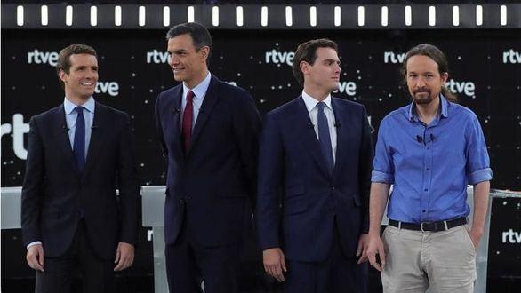 Así será el debate a cinco: Pablo Iglesias lo abrirá y lo cerrará